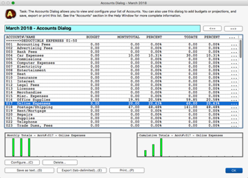 TinyBooks Pro: Ultra-Simple Macintosh Accounting and Bookkeeping Software for Small Business